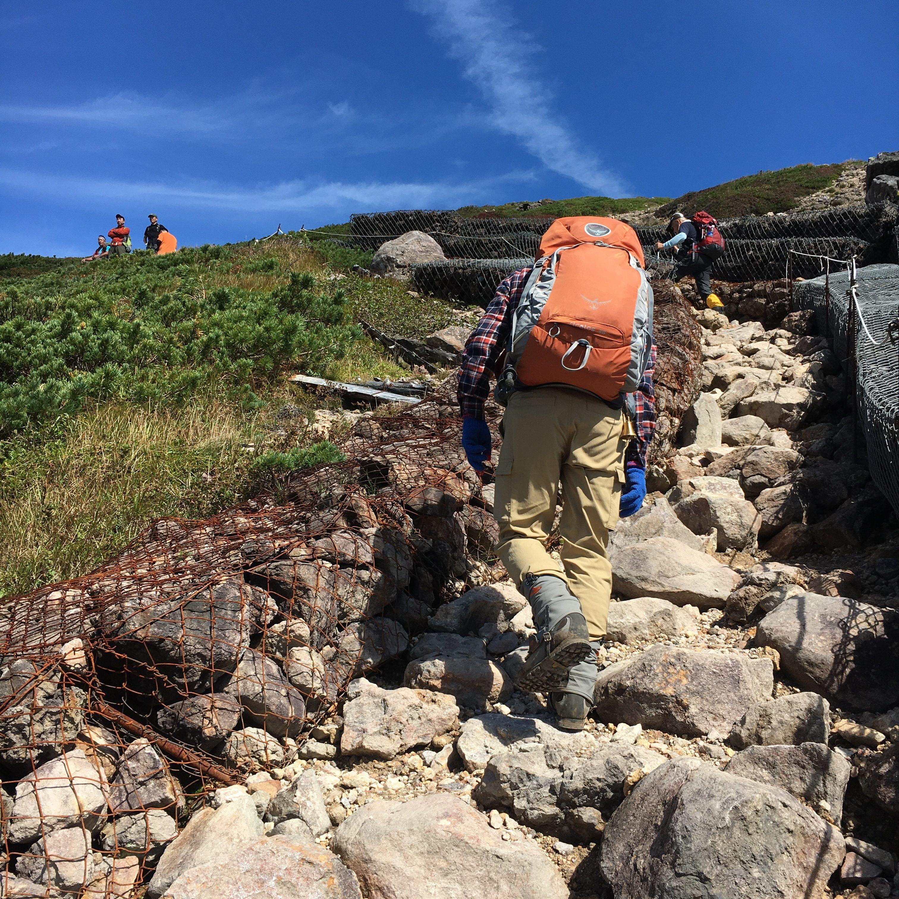 登山やトレッキングを楽しむために疲れない山の歩き方