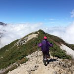 登山&トレッキングもおしゃれで機能的に!レインウェアのスカート!