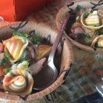 【登山のご飯 簡単で美味しいレシピ】ハロウィンのパスタでポトフ風