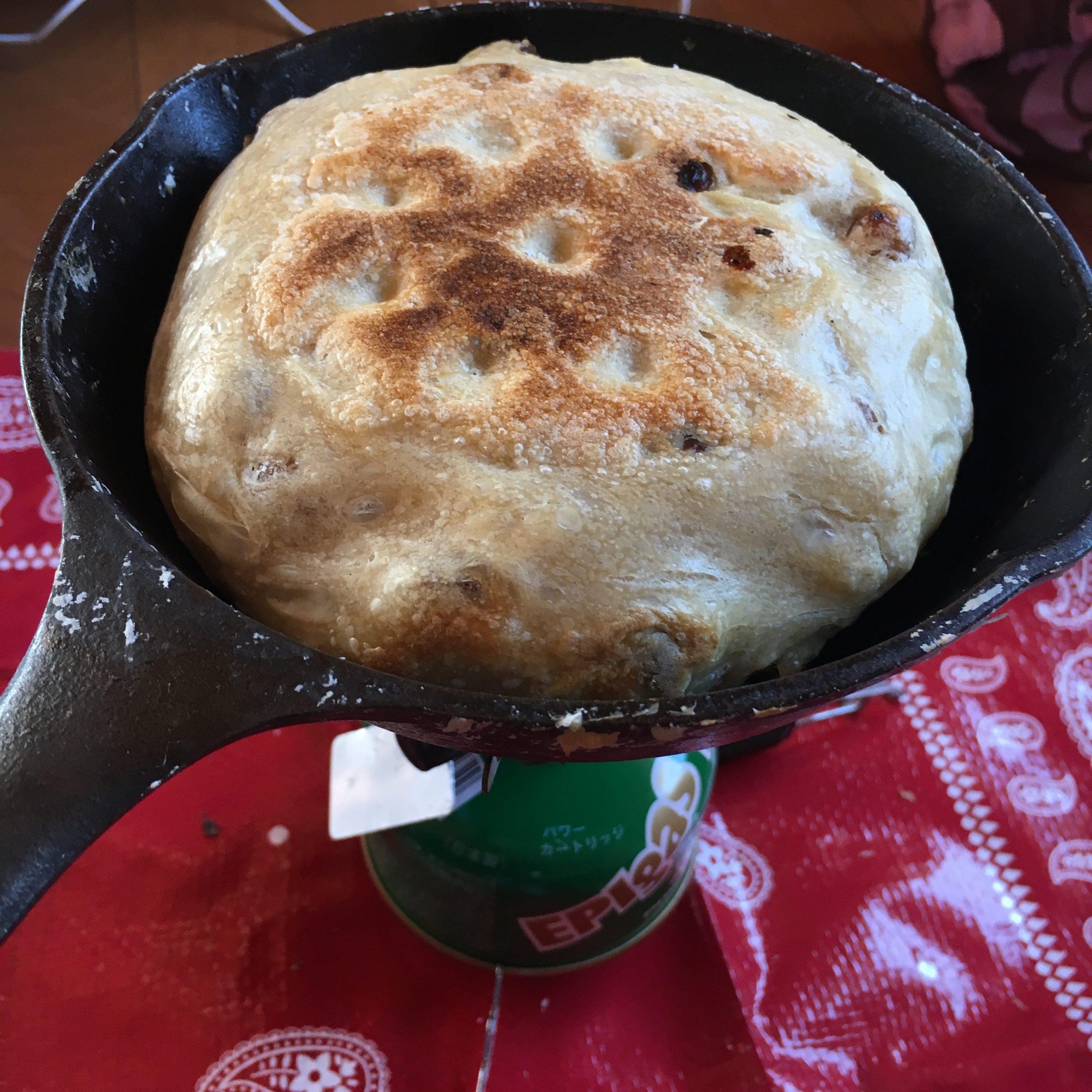 登山でパンを焼く!登山でも美味しい焼きたてパンが食べたくて